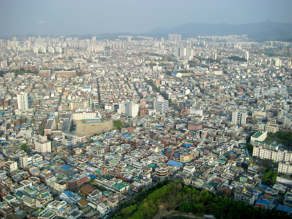Temperatur Südkorea