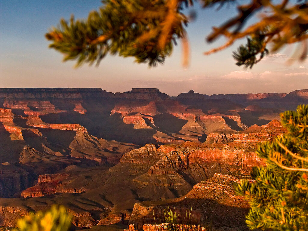 Wetter Grand Canyon